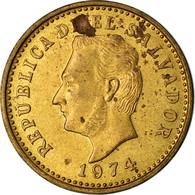 Monnaie, El Salvador, 2 Centavos, 1974, British Royal Mint, England, TTB - El Salvador