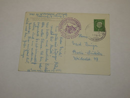 Germany Postcard 1959 - Dänemark