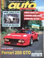 Revue Auto Passion N°97 (octobre 1994) Ferrari 288 GTO - Amilcar - Simca 8 Sport - Croisière Citroën - Auto/Motor