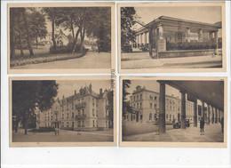 6 CPA - CONTREXEVILLE (88) Le Parc, Une Allée, L'entrée, Colonnades Et Le Grand Hotel, Eglise Protestante - Vittel Contrexeville