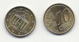 10 Cent, 2020,  Prägestätte (A), Vz, Sehr Gut Erhaltene Umlaufmünzen - Germany