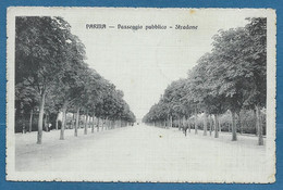 PARMA PASSEGGIO PUBBLICO STRADONE VG.1915 N°A722 TIMBRO CROCE ROSSA PRONTO SOCCORSO FERROVIARIO N.22 - Parma