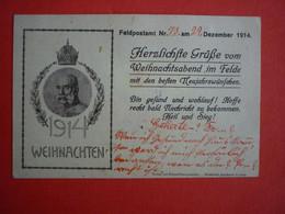 WAR 1914-18 , K.U.K. OFFIZIELLE KORRESPONDENZKARTE 1914 - Weltkrieg 1914-18