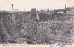 Lessines - Carrière Tacquenier En 1903 - Circulé En 1904 - Dos Non Séparé - TBE - Lessines