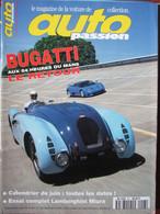 Revue Auto Passion N°93 (juin 1994) Retour Bugatti Au Mans - P Bardinon - B Cahier - Auto/Motor