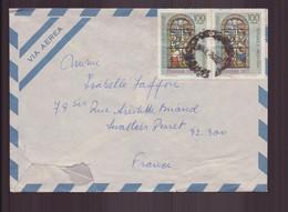 Argentine, Enveloppe De 1977 De Buenos Aires Pour Levallois Perret - Cartas