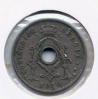 ALBERT I * 5 Cent 1910 Vlaams * Punten Op De Ij * Nr 5553 - 03. 5 Céntimos