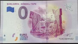 BILLETE TURISTICO Euro Souvenir De TURQUIA: ŞANLIURFA - GÖBEKLI TEPE - Non Classificati