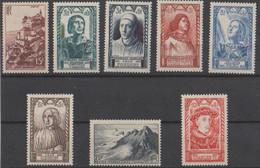 Frankreich YT 763-770 ** Bl.a. Celebrites 1946 Cv 20 € - Neufs