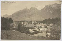 GRUYERES:  VILLARS-SOUS-MONT... BELLE CARTE - FR Fribourg