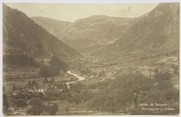 VAL DE BÂGNES: 1923 MONTAGNIER ET CHÂBLE... BELLE CARTE - VS Valais