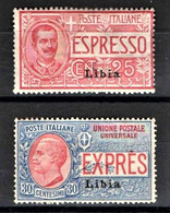 LIBIA 1915 ESPRESSI SERIE COMPLETA ** MNH - Libye