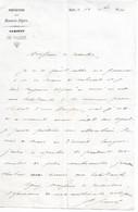 Lettre Du Préfet Des Basses-Alpes à Un Conseiller Général, 18/12/1860 - Historical Documents