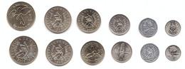 Guatemala - Set 6 Coins 1 5 10 25 50 Centavos 1 Quetzal 1994 - 2007 UNC Lemberg-Zp - Guatemala