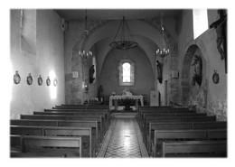 SAINT-ETIENNE-DE-VALOUX - Intérieur De L'église - Otros Municipios