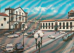 PORTUGAL - Madeira - City Hall Square - Funchal - Automotive - Simca 1000 - VW Beetle - Borgward Isabella - Madeira