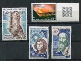 RC 19497 COMORES COTE 33€ PA N° 53 / 56 ENSEMBLE COMPLET ÉMIS EN 1973 NEUF ** MNH TB - Airmail