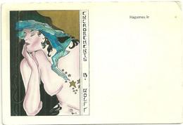 CPM Haguenau Illustrateur (e) Publicité Encadrement Wolf Dessin Maes - Haguenau