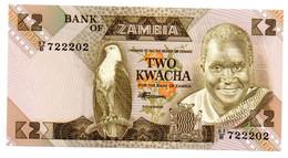 Zambie / 2 Kwacha / UNC - Zambia