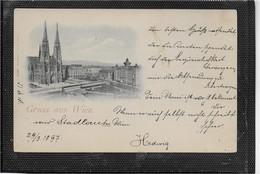 AK 0605  Wien - Votivkirche / Verlag Stengel & Co Um 1897 - Iglesias
