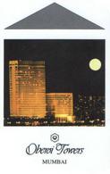 INDIA KEY HOTEL      Oberoi Towers Mumbai - Chiavi Elettroniche Di Alberghi
