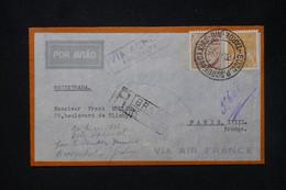 BRÉSIL - Enveloppe En Recommandé  Pour La France En 1935 Par Avion - L 80226 - Briefe U. Dokumente