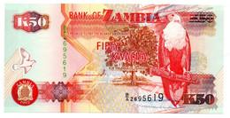Zambie / 50 Kwacha 1992 / UNC - Zambia