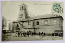 Carte Postale Ancienne -LENS -La Garde D'une Mine - Mijnen