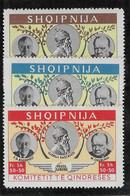 Albanie - Roosevelt Churchill Kastrioti - Neuf ** Sans Charnière - TB - Albania