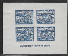 Espagne - Bloc Madrid 1938 - Hélicoptère - Neuf Sans Gomme - B/TB - Unclassified
