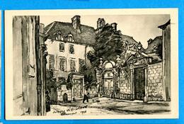 B710, Chaumont, Jacques Weissmann, Chaumont 1926, Circulée 1930 Sous Enveloppe - Chaumont