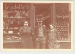 """PARIS - 11ème Arrondissement - RESTAURANT AUVERGNAT """"LA GALOCHE """" - La Vitrine Avant 1950 - Tirage Limité à 1000 Ex. - Cafés, Hoteles, Restaurantes"""