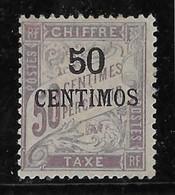 Maroc - Taxe N°4 - Neuf * Avec Charnière - TB - Postage Due