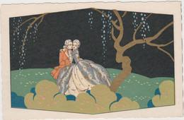 Couple Fantaisie Lots De 2  Cartes - Coppie