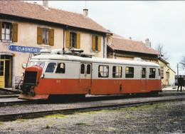 Carte Postale Amis Du Rail Du Forez Tramways De St Etienne CIE CFD Réseau Du Vivarais, Autorail A 150-D1 N°212 St Agrève - Bahnhöfe Mit Zügen