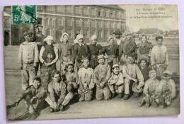 Carte Postale Ancienne - Groupe De Cafus  Et De Galibots - Bergbau
