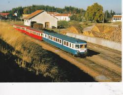 Carte Postale Amis Du Rail Du Forez: Ligne Firminy Dunières Gare DeSt Pal St Romain43) X 2800 1978 - Estaciones Con Trenes
