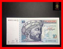 TUNISIA 10 Dinars 7.11.1994 P. 87   XF - Tusesië