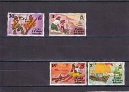 Turcas Y Caicos Nº 276 Al 279 - Turks & Caicos