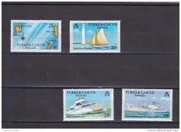Turcas Y Caicos Nº 391 Al 394 - Turks & Caicos