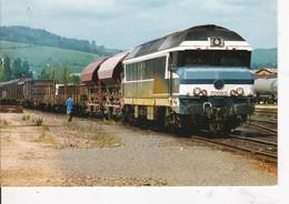 Carte Postale Amis Du Rail Du Forez: Ligne De St Georges D'Aurac St Etienne Gare De Firminy 42 CC72092 1996 - Trenes
