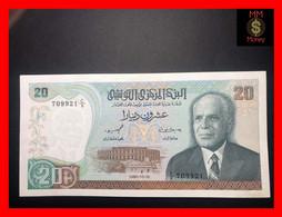 TUNISIA  20 Dinars 15.10.1980  P. 77  UNC - Tusesië