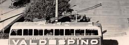 VINTAGE POSTCARD ±1950 -  Cádiz - Avenue Ramon De Carranza - Trolleybus Avec Publicité VALDESPINO - Éd. AISA ♥ - Advertising