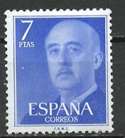 Espagne - Spain - Spanien 1974 Y&T N°1880 - Michel N°2120 *** - 7p F Franco - 1971-80 Nuovi