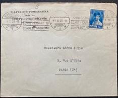 ROUMANIE ROMANIA  1929 LETTRE L'ATTACHE COMMERCIAL LEGATION FRANCE  POSTE PAR PARIS  FRANCE OBLITERATION MECANIQUE - Lettres & Documents