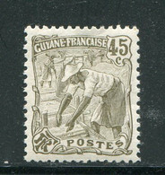 GUYANE- Y&T N°60- Neuf Sans Charnière ** - Nuovi