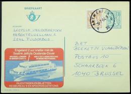 Entiers Postaux - Publibel 2788, Bateau, Ferry, Malle Ostende Dover / Ostende Douvres (sealink Jetfoils, Boat - Belgium) - Publibels