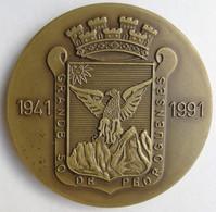 Portugal Medalha Pedrógão Grande 50 Aniversario 1941 1991 - Professionals / Firms