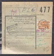 Vrachtbrief Met Sterstempel Petit-Fays - 1942-1951