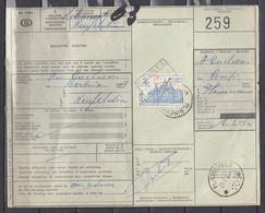 Vrachtbrief Met Sterstempel Plainevaux - 1952-....